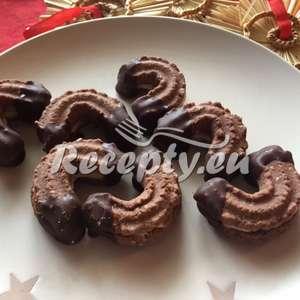 Kakaové rohlíčky