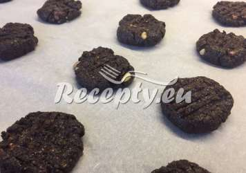 Čokoládové cookies podle Nikouše Vánoční cukroví