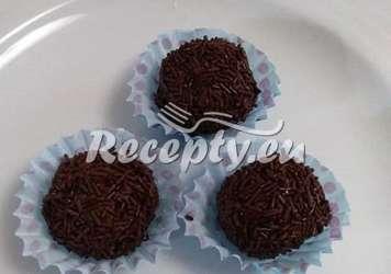 Čokoládové kuličky s pudinkem