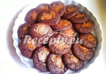 Cookies se slaným karamelem Vánoční cukroví