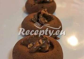 Důlkové koláčky s čokoládou