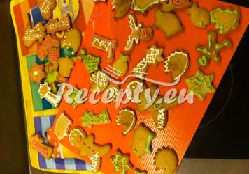 Ihned měkké medové perníčky Vánoční cukroví