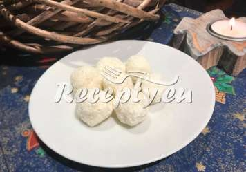 Jáhlové kuličky s kokosem