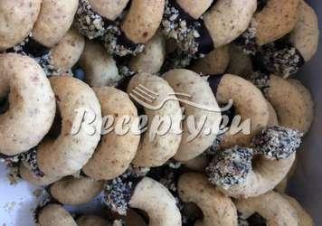 Klášterní rohlíčky s kokosem