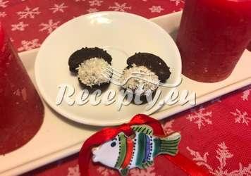 Mandlové hříbečky Vánoční cukroví