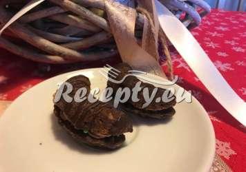 Mandlové kakaové rohlíčky