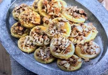 Moravské koláčky s ořechy