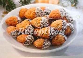 Plněné ořechy s máslovým krémem Vánoční cukroví