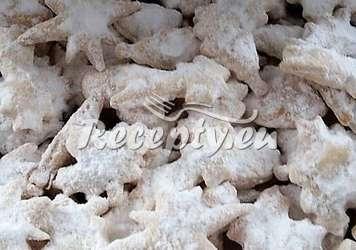 Šlehačkové cukroví s vanilkovým cukrem