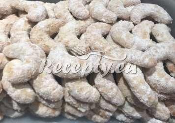 Vanilkové rohlíčky z celozrnné mouky Vánoční cukroví