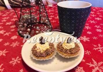 Vánoční karamelové košíčky