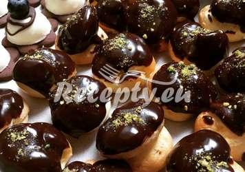 Zasněžené ořechy s hořkou čokoládou Vánoční cukroví