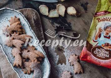 Zázvrové špaldové sušenky