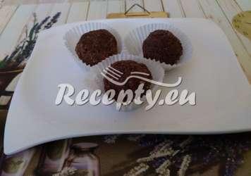Čokoládové kuličky z ovesných vloček