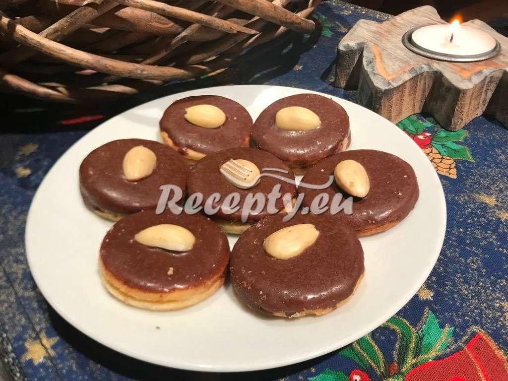 Klasické vánoční brabantské dortíčky