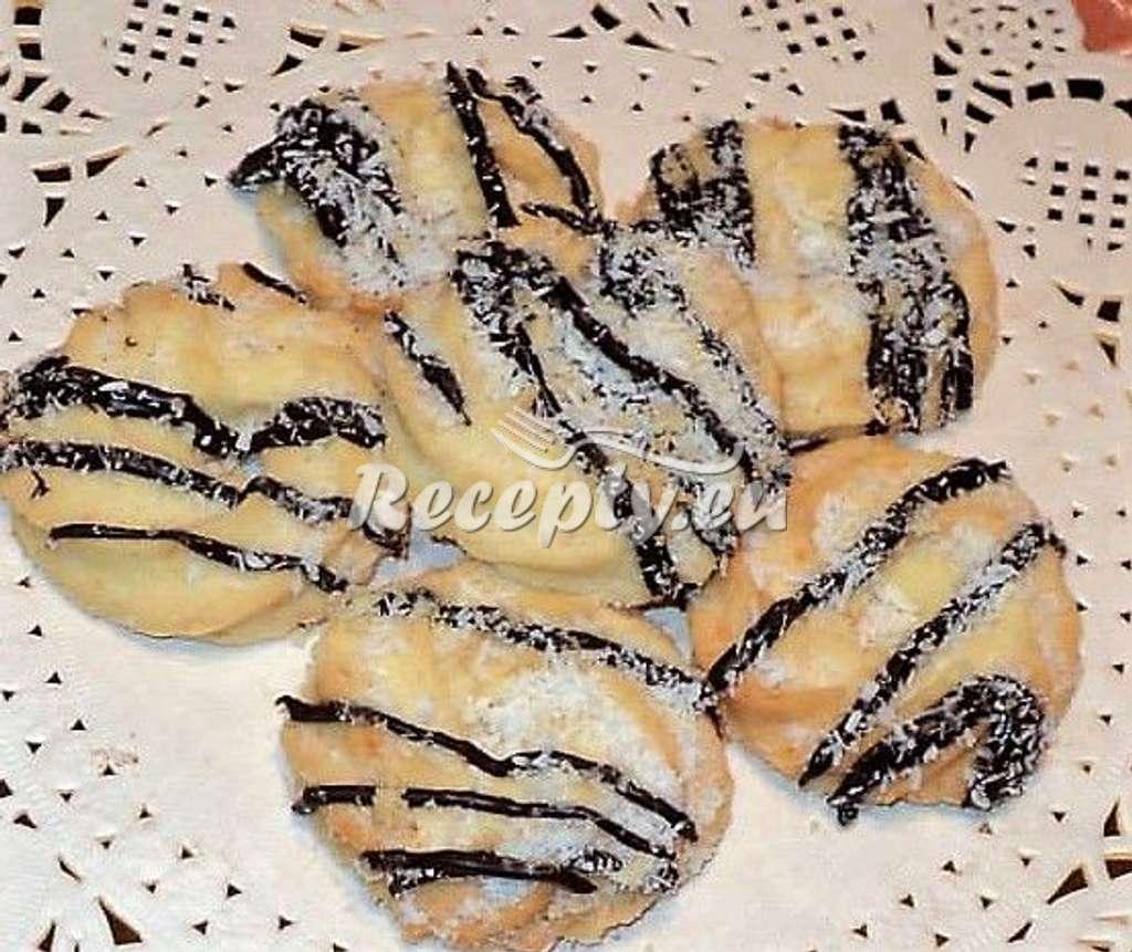 Kokosové vánoční koláčky