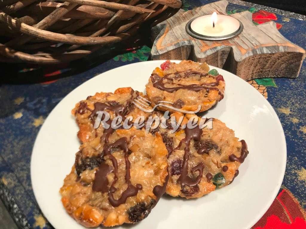Vánoční chlebíček s kandovaným ovocem