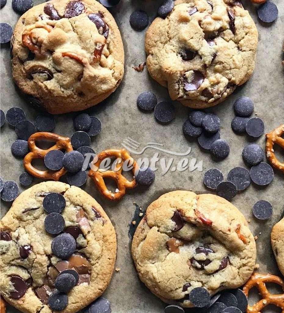 Vánoční cookies s preclíky