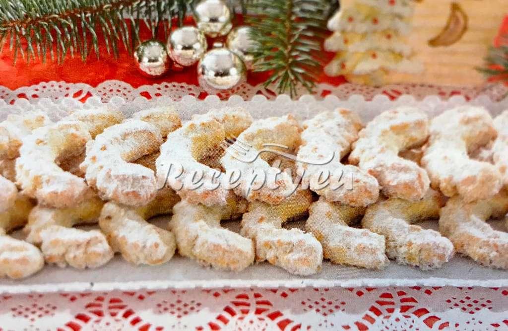 Vánoční mandlové rohlíčky