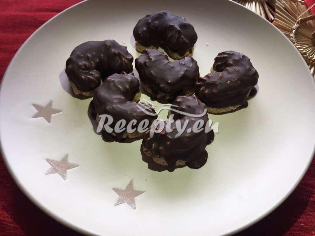 Snadné čokoládové rohlíčky